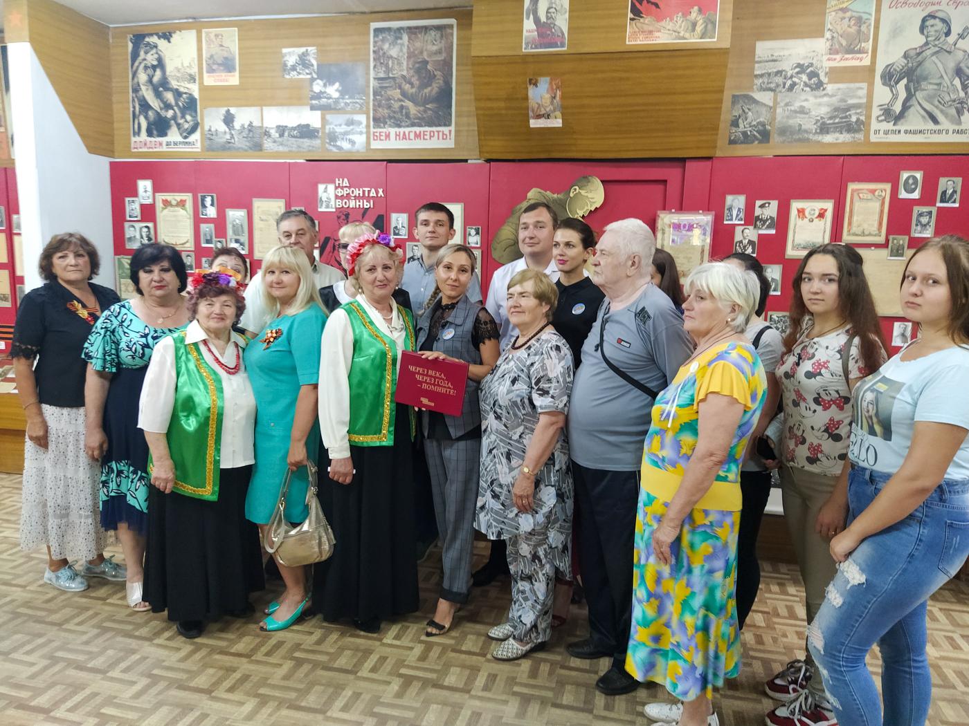 В Перевальске состоялась передача «Книги памяти» музею 1