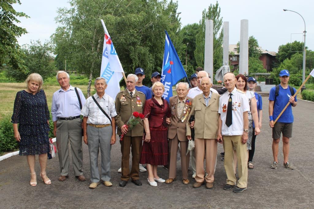 В Алчевске почтили память павших в Великой Отечественной войне 1