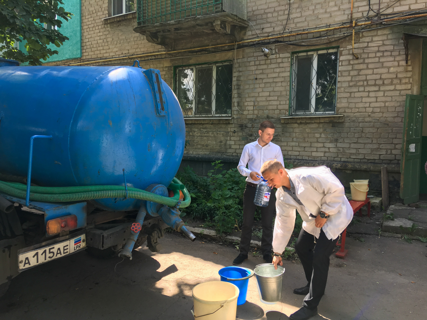 Представители ОД «Мир Луганщине» помогли пенсионерке в Красно Луче