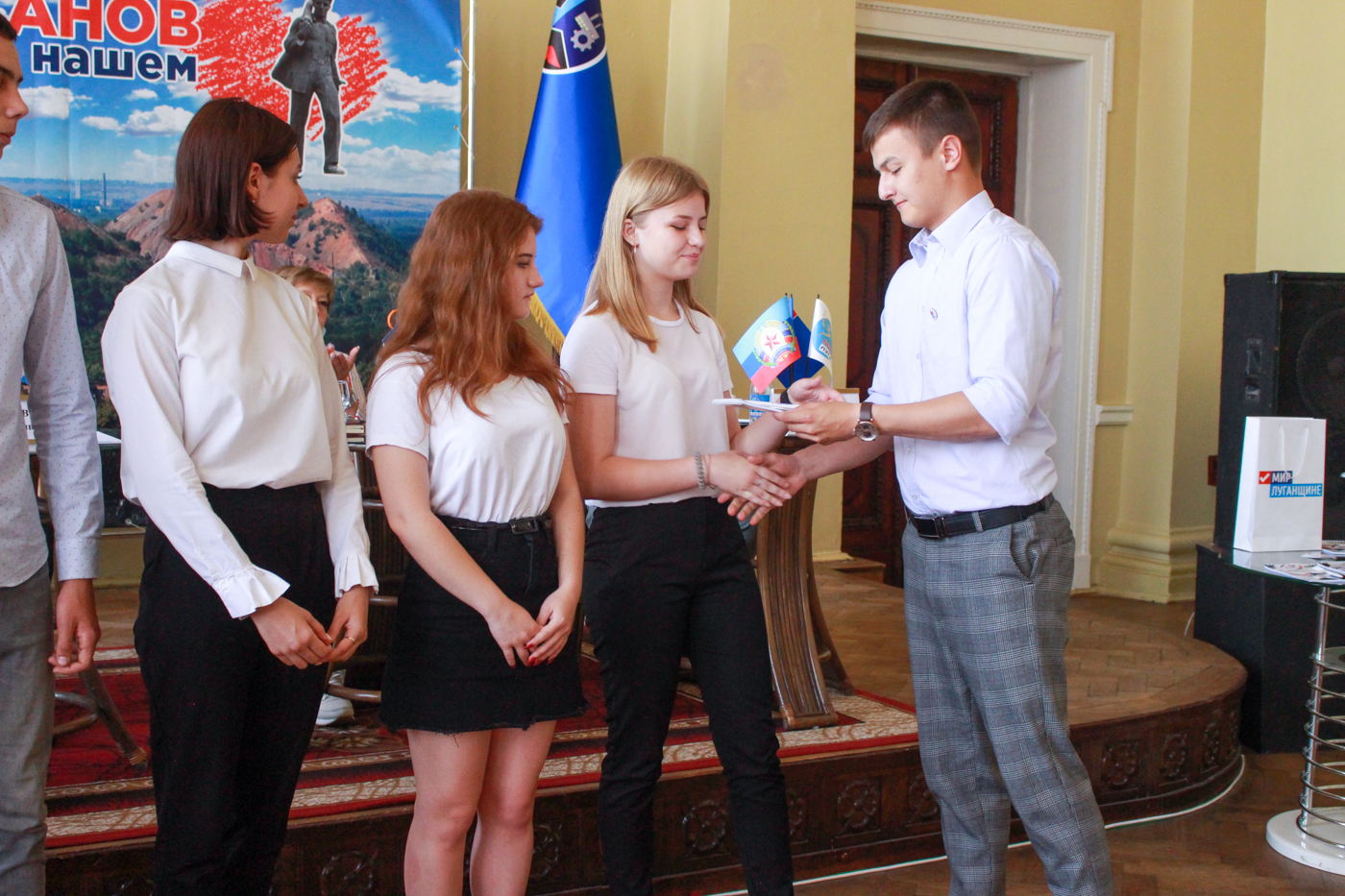 В Стаханове состоялась встреча с молодёжью города 3