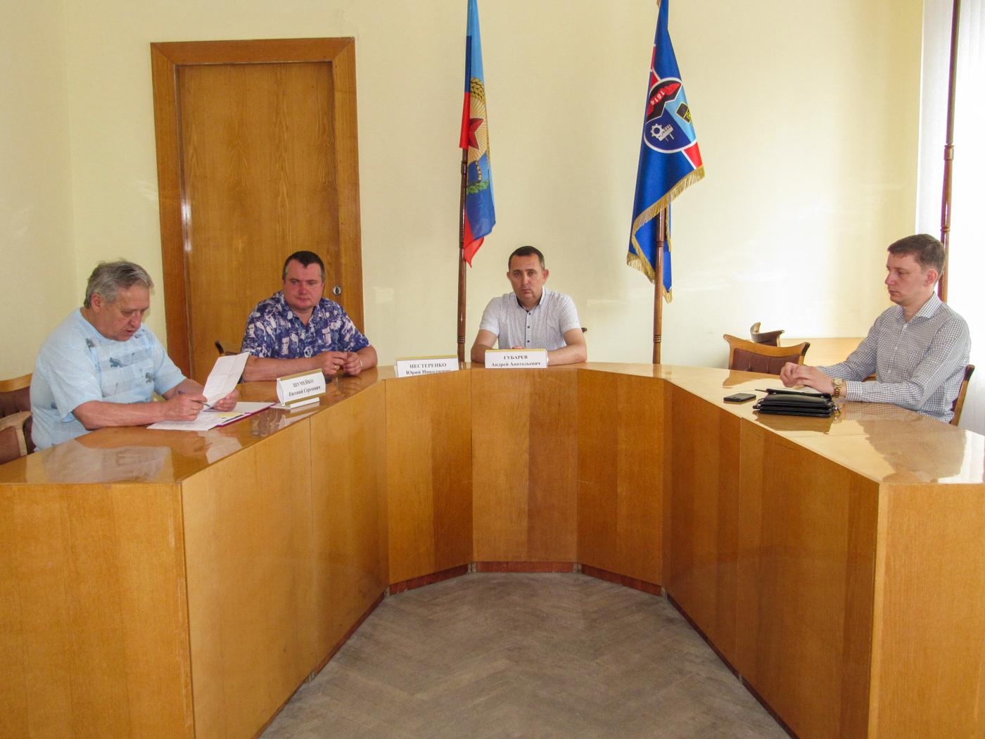 В Стаханове обсудили предложение о восстановлении звания «Ветеран труда» 2