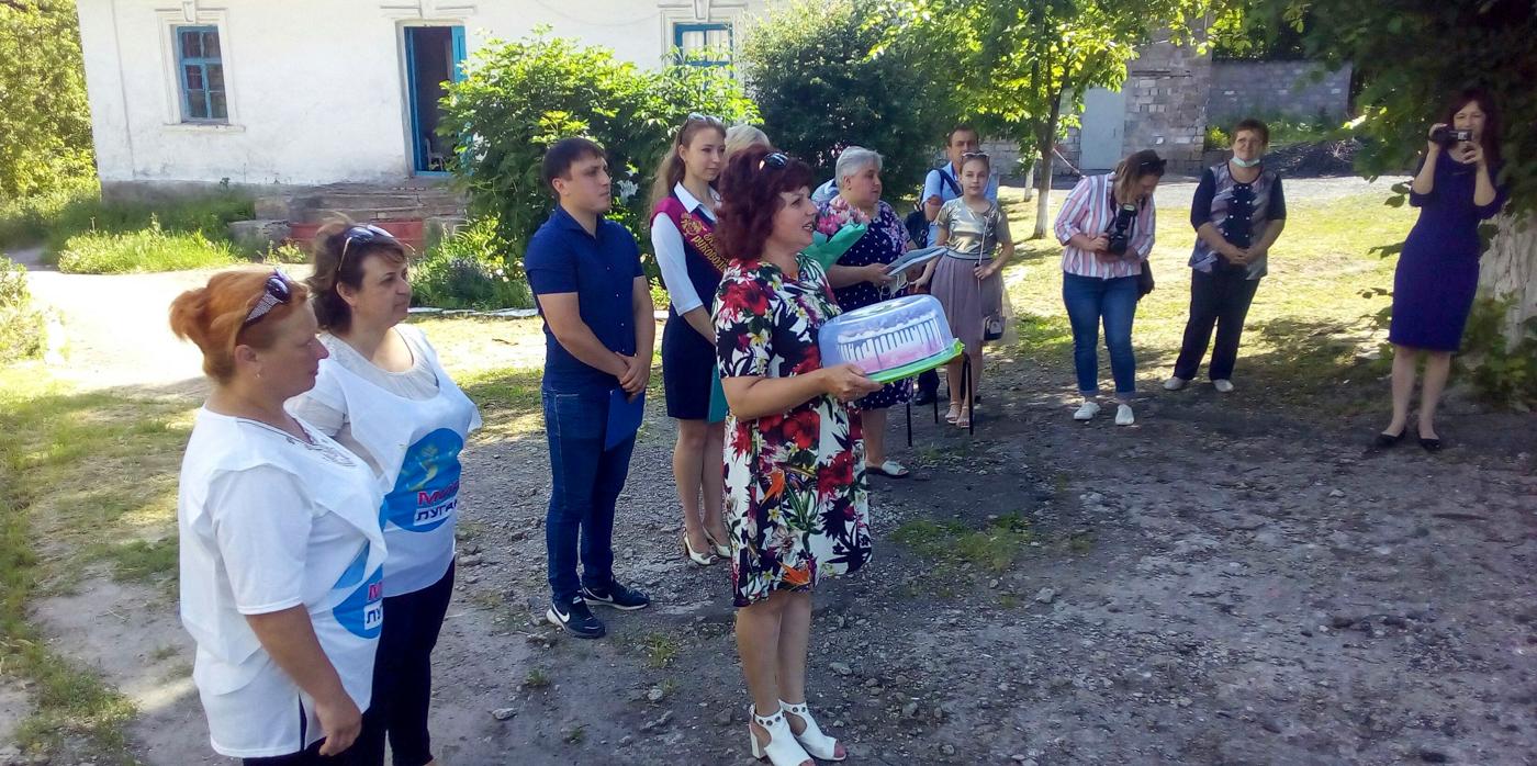 Активистов проекта «Молодая Гвардия» наградили в посёлке Бугаевка