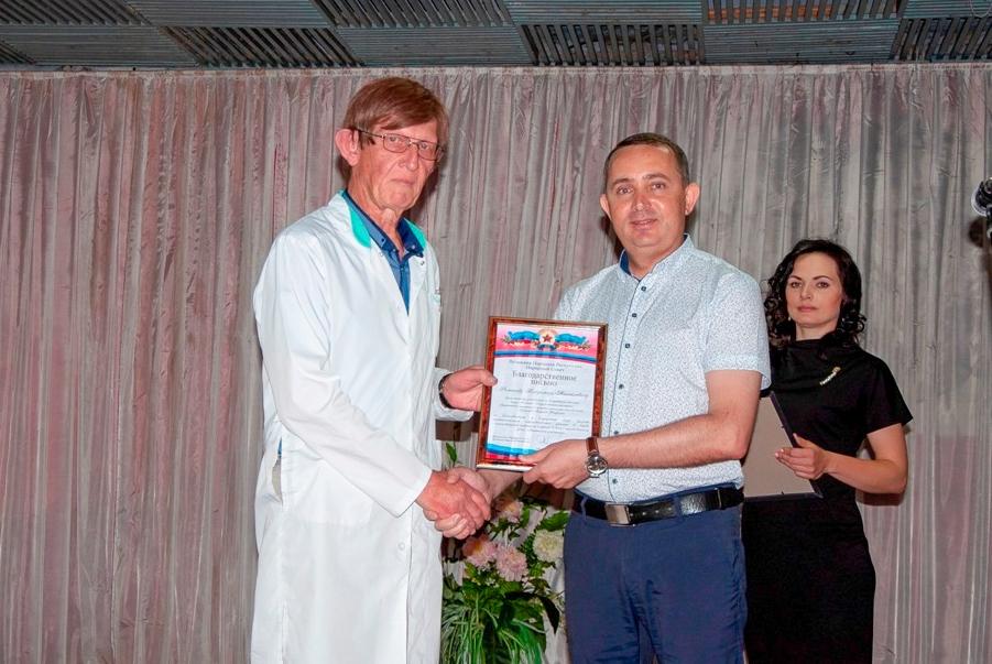 Медицинских работников Стаханова поздравили с профессиональным праздником