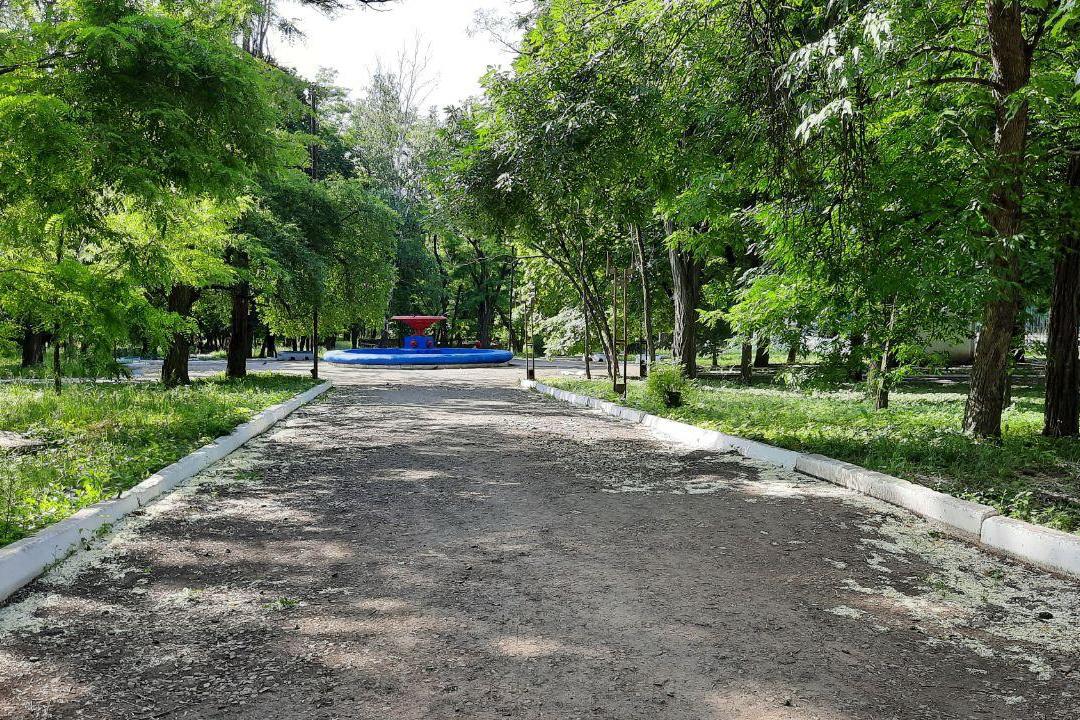 Благодаря ОД «Мир Луганщине» в центре Антрацита появится новая детская площадка