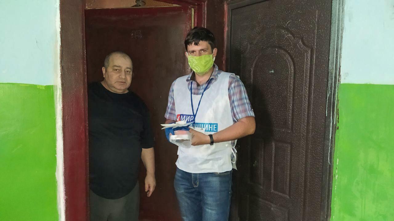 Волонтёры акции «Рука помощи» за неделю помогли 49 жителям ЛНР