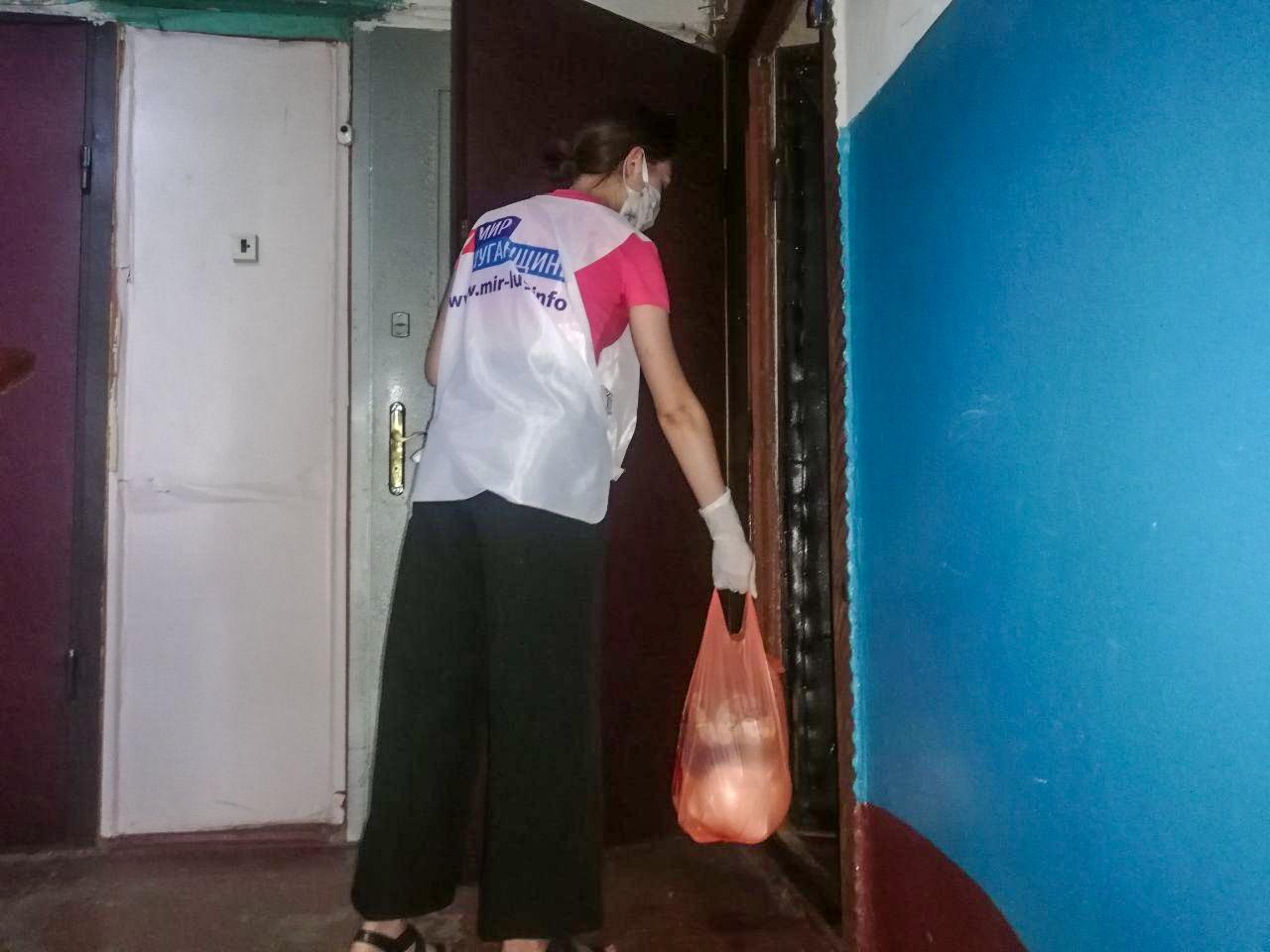 За неделю волонтёры акции «Рука помощи» помогли трём жителям Стаханова 2