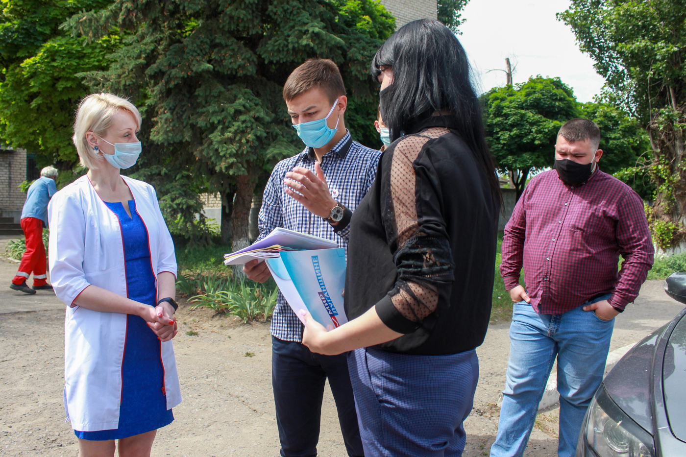 В Луганске подвели итоги акции «#СпасибоВрачамЛНР» 2