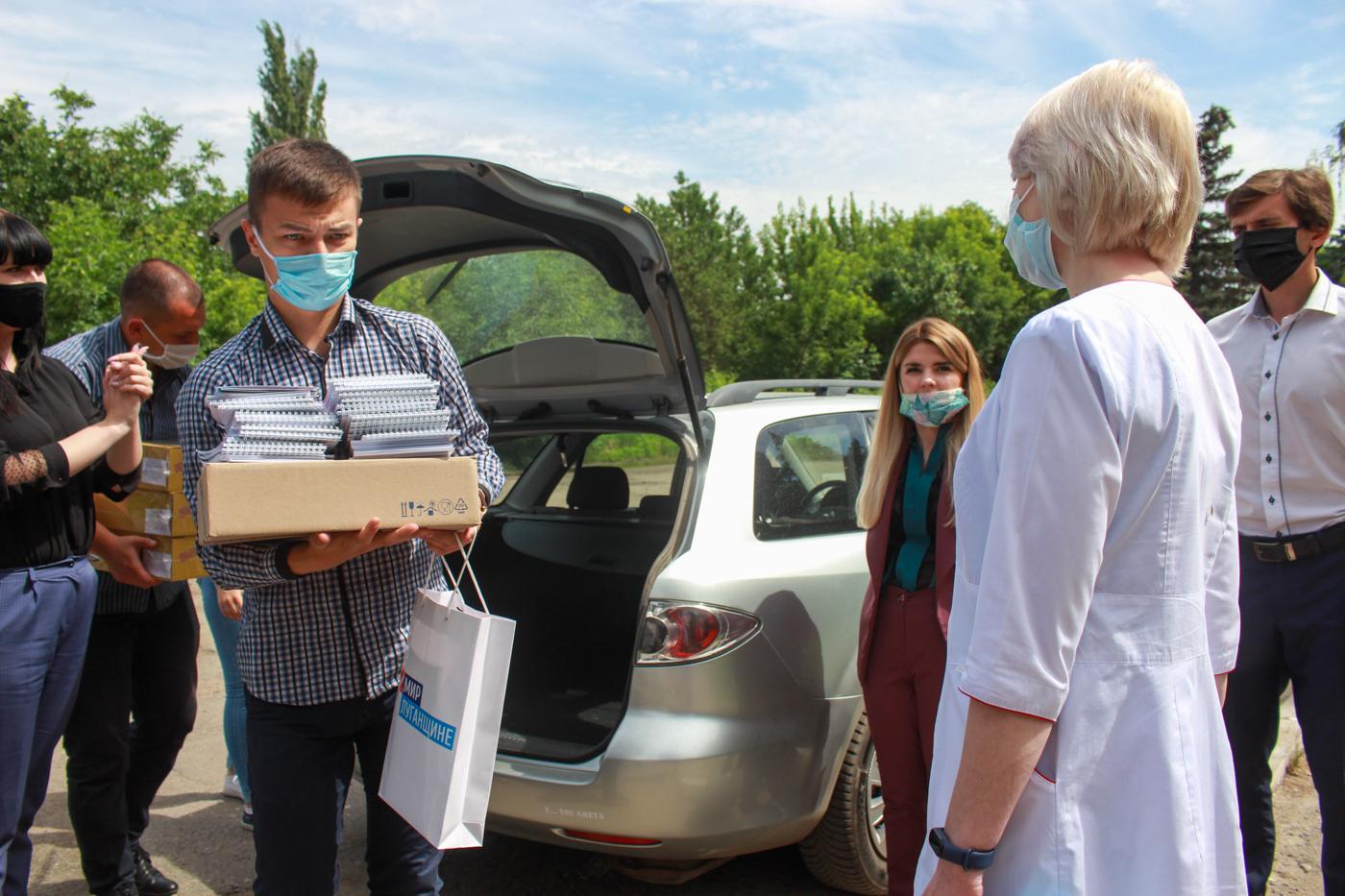 В Луганске подвели итоги акции «#СпасибоВрачамЛНР» 3