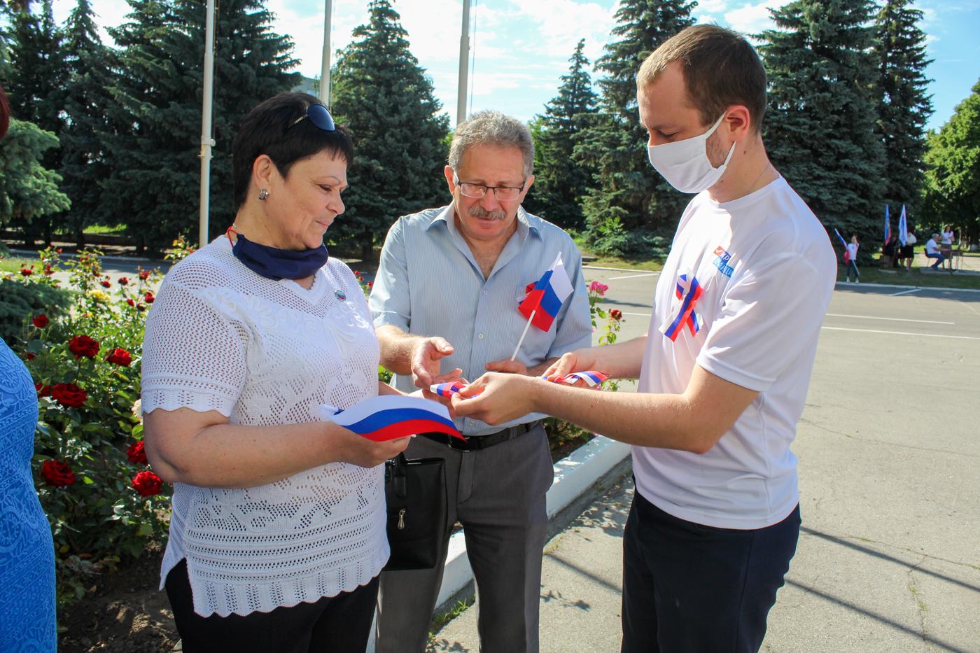 В городах ЛНР отпраздновали День России 8