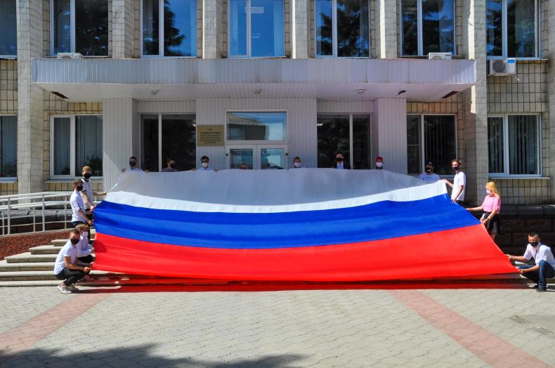 В десяти городах ЛНР отметили День России 1