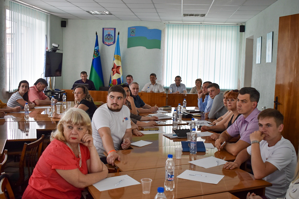 В Брянке обсудили озеленение Луганской Народной Республики 1