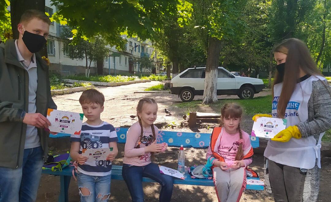 В городах и районах ЛНР отпраздновали Международный день защиты детей 12
