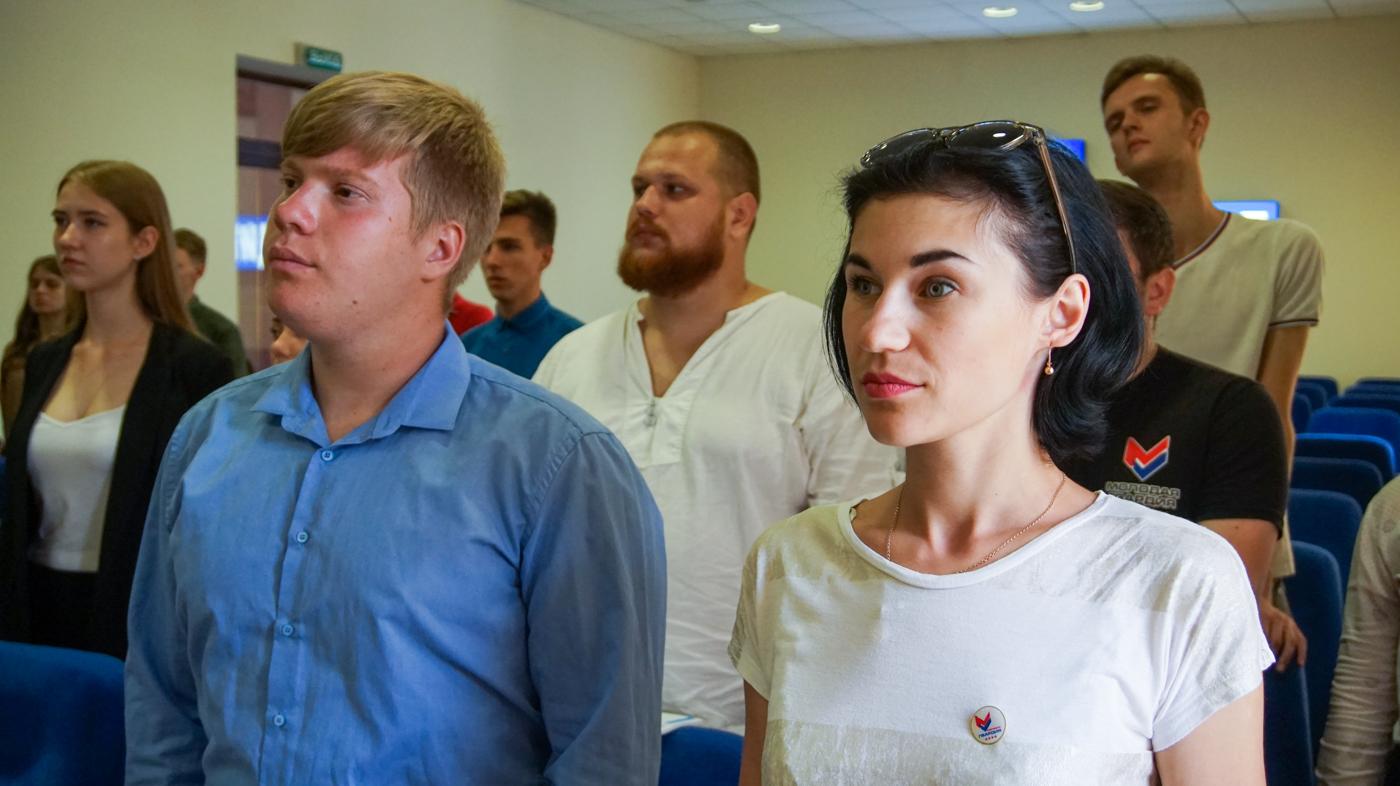 Для координаторов проекта «Молодая Гвардия» из разных городов республики провели тренинг в Луганске 4