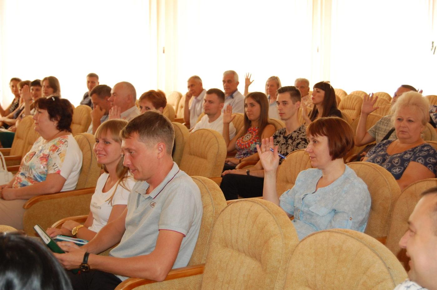 Избран председатель Лутугинского теротделения ОД «Мир Луганщине»