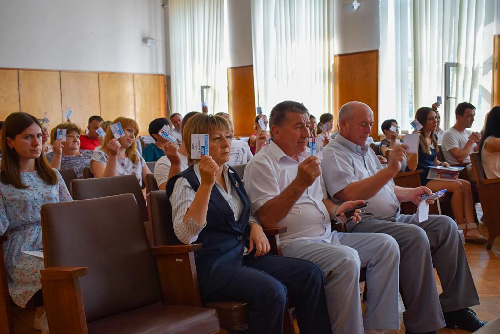 В Первомайске избрали нового председателя теротделения ОД «Мир Луганщине» 3