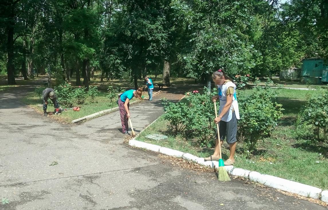 В посёлке Краснодон прошла акция «Доброе дело»