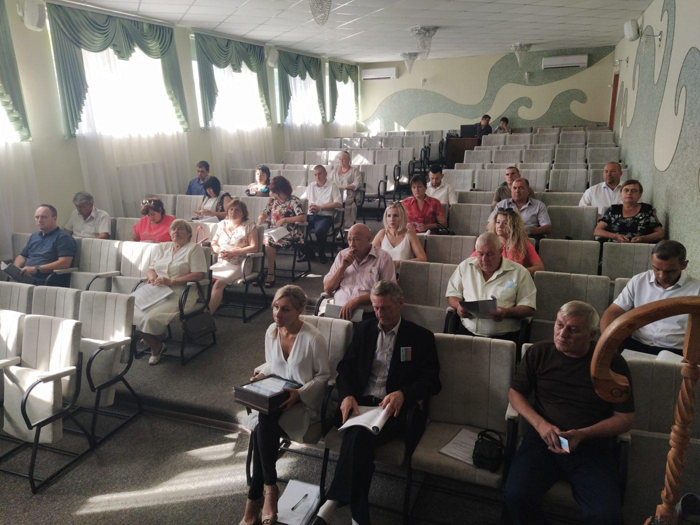 В Перевальске прошла конференция теротделения Общественного движения «Мир Луганщине»
