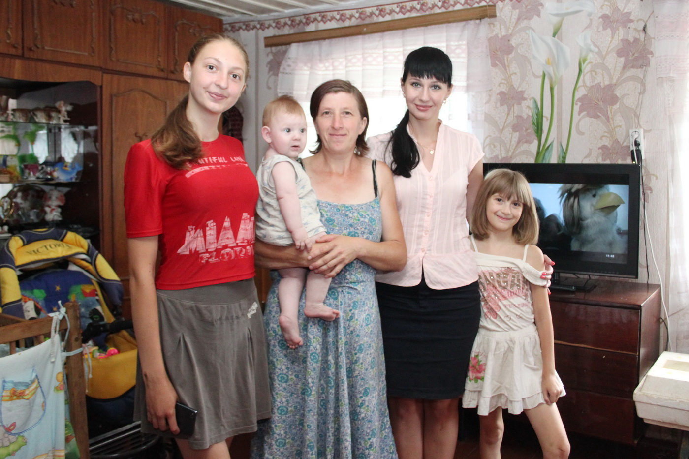 Александра Коваленко провела встречу с избирателями в селе Новоанновка Краснодонского района 1