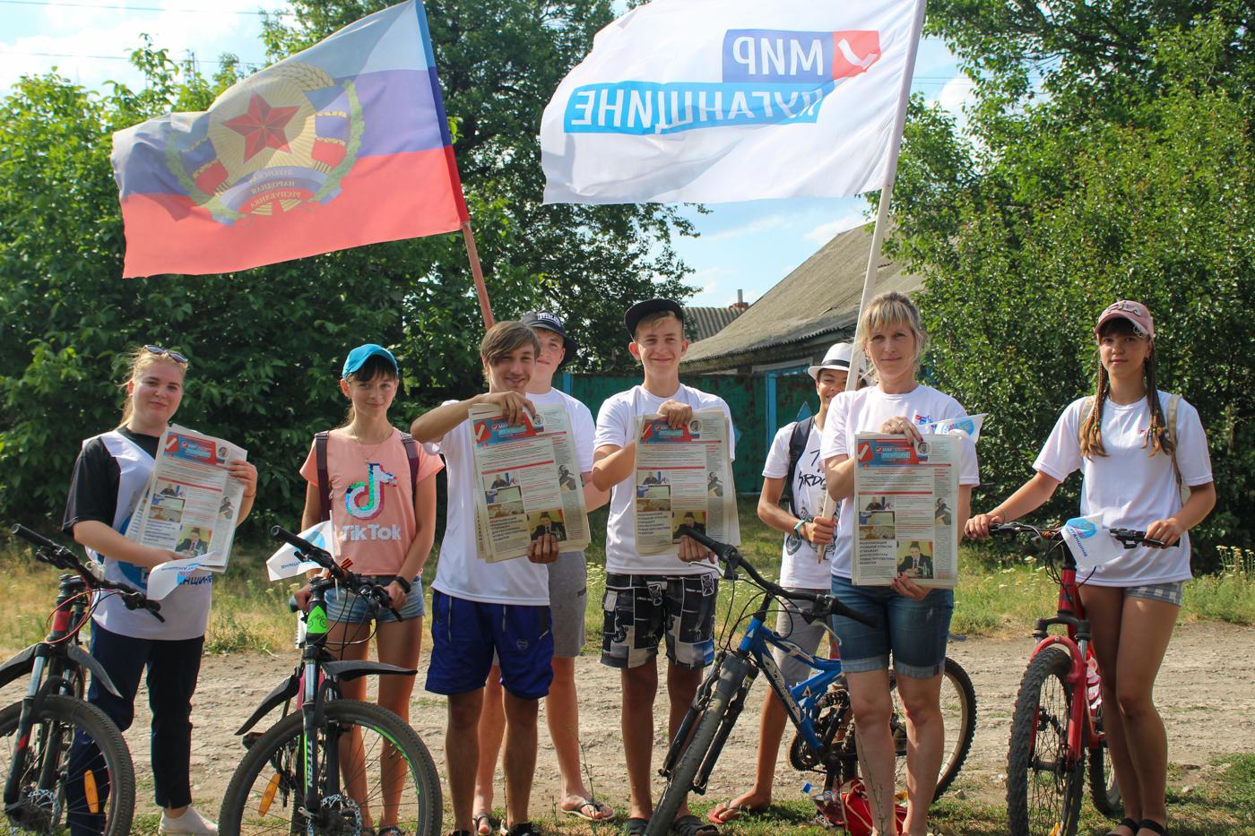 Светлана Гизай и Антонина Гречишкина встретились в ветеранским активом Славяносербского района 3