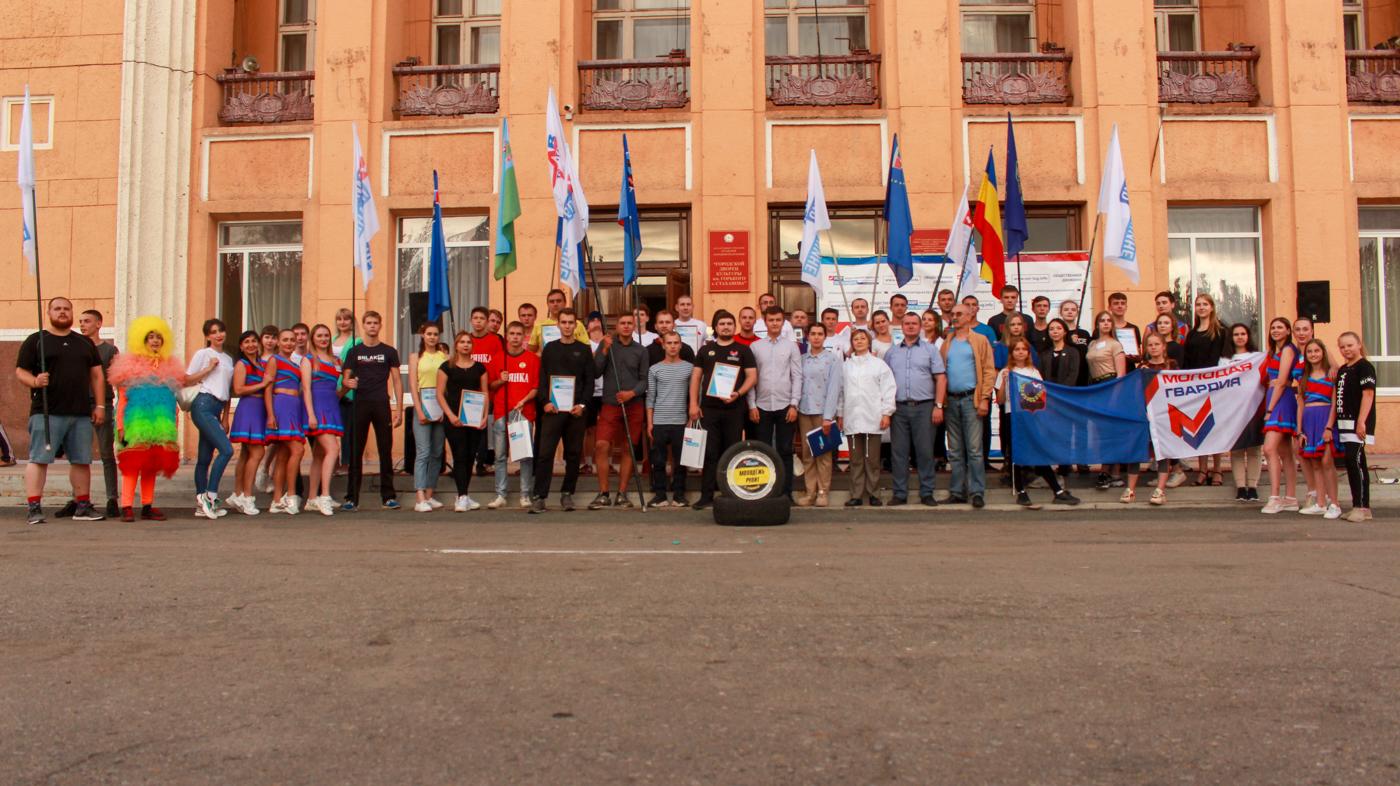 Республиканский автоквест «Молодёжь рулит» прошёл в Стахнове