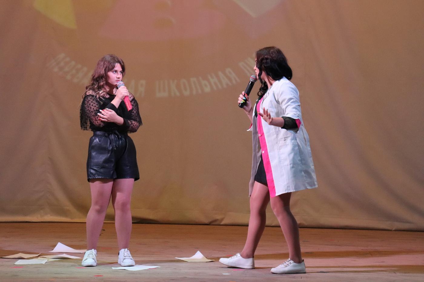 В Перевальском районе прошёл финал пятого сезона Школьной лиги КВН