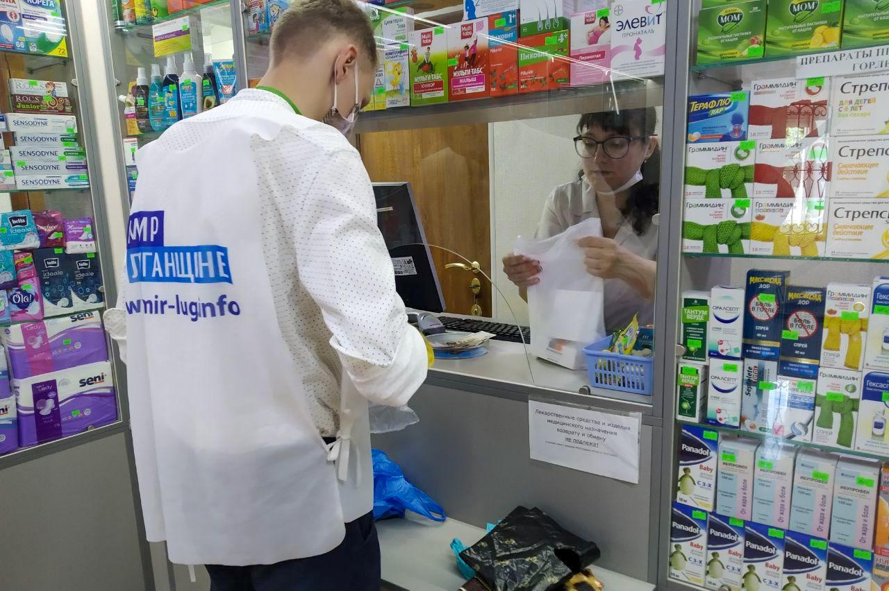 Волонтёры акции «Рука помощи» помогли жителям Антрацита 3