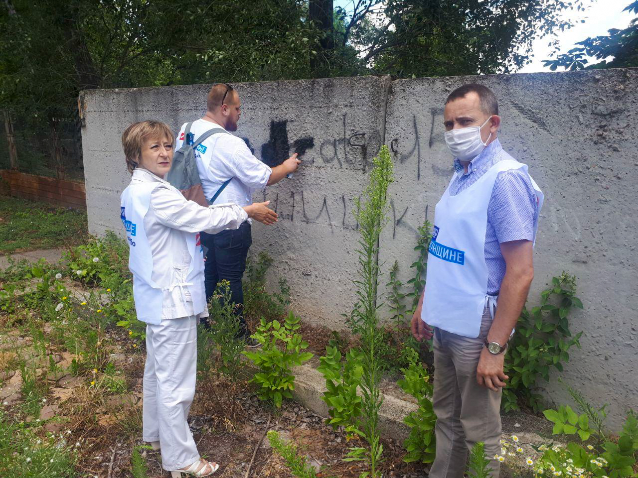 В Стаханове депутаты Народного Совета ЛНР приняли участие в акции «Стоп наркотикам!»