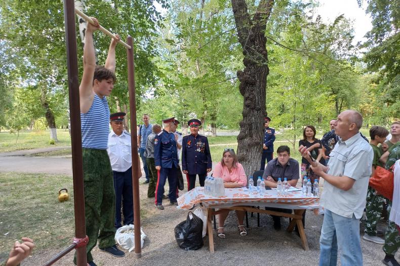 В Свердловске прошли однодневные сборы молодёжи