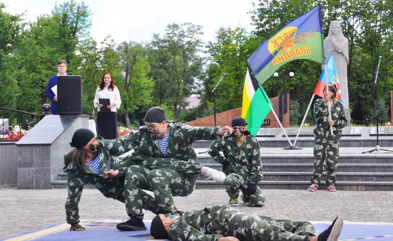 В Свердловске прошло мероприятие, посвящённое Дню воздушно-десантных войск 2
