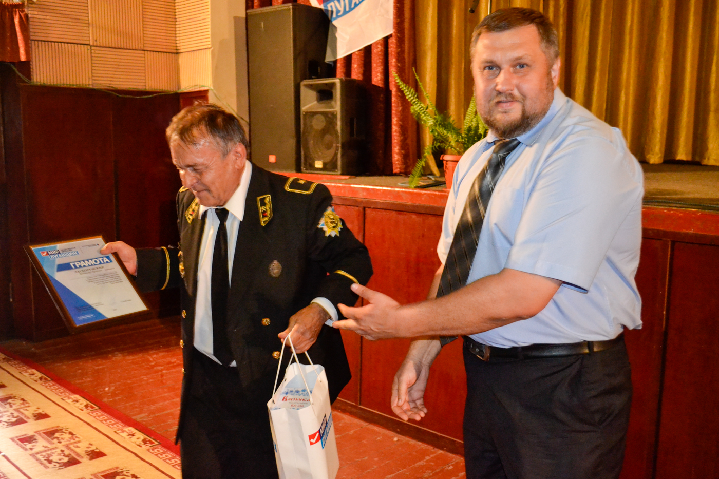 Ко Дню шахтёра в посёлке Белореченский провели праздничный концерт 3