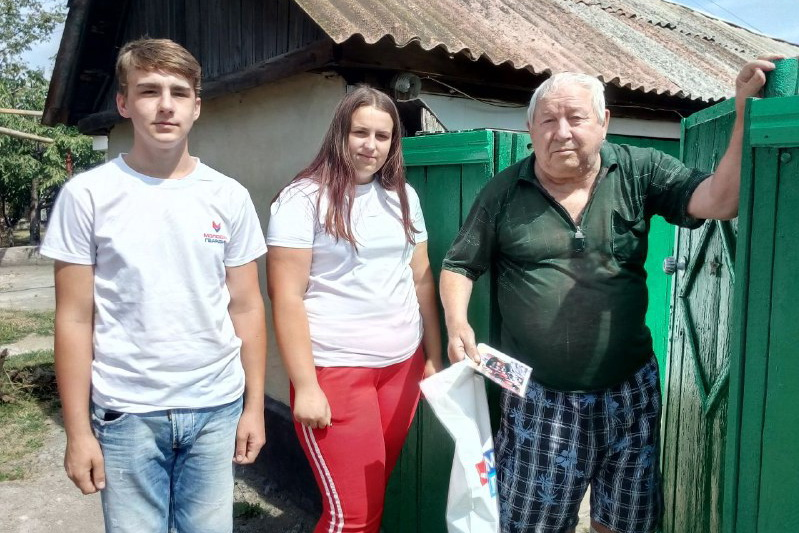 В Перевальском районе поздравили ветеранов шахтёрского труда в преддверии профессионального праздника