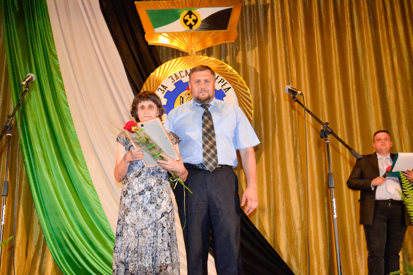 Ко Дню шахтёра в посёлке Белореченский провели праздничный концерт 4