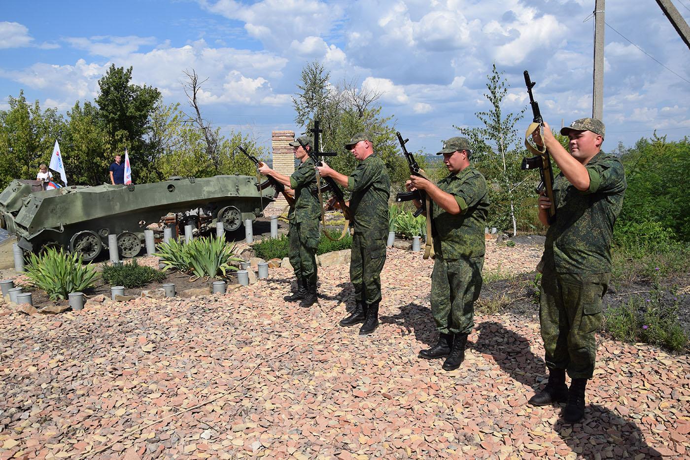 В Новопавловке почтили память защитников посёлка 3