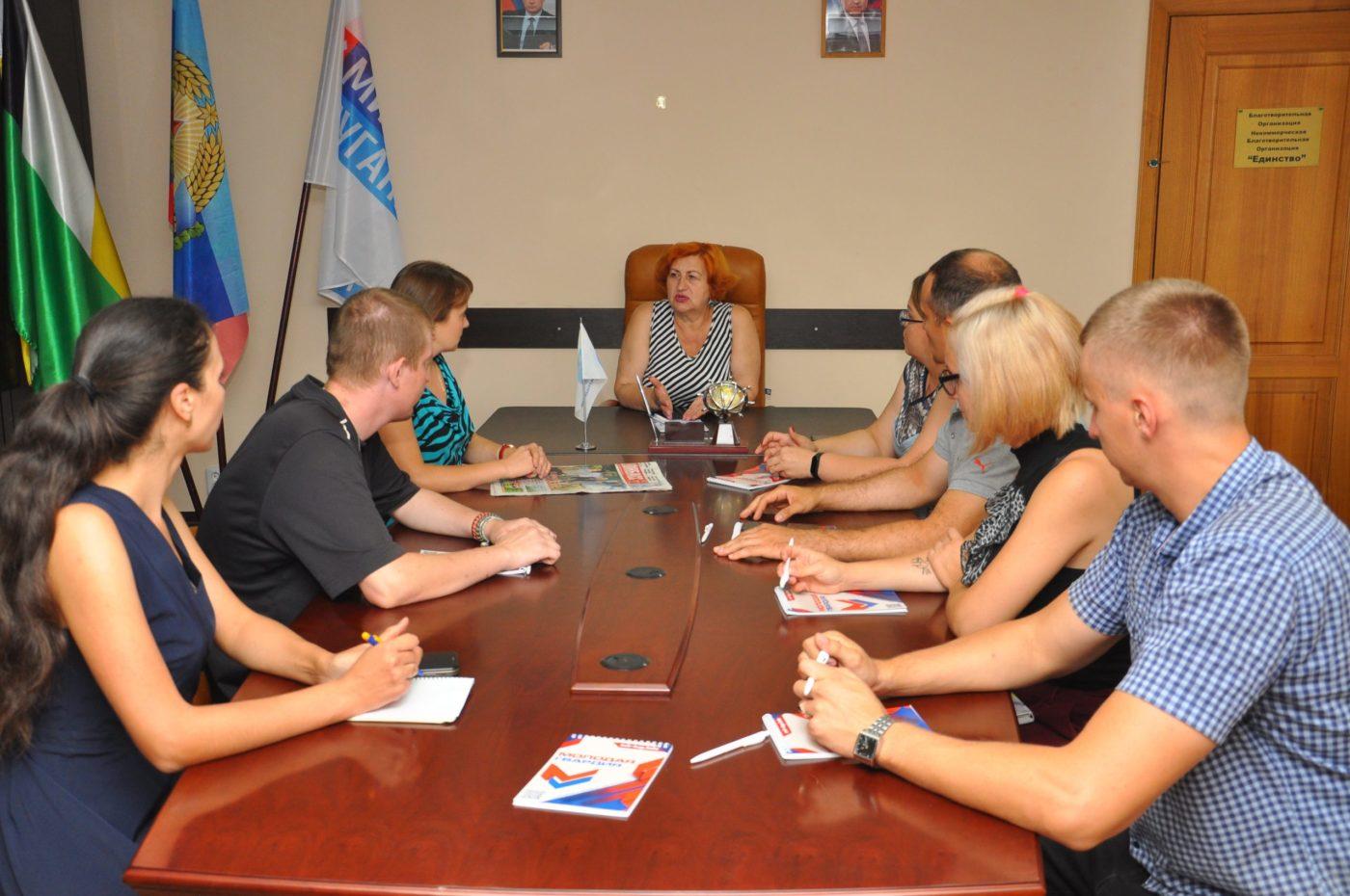 В Свердловске прошёл круглый стол, посвященный Всемирному дню гуманитарной помощи