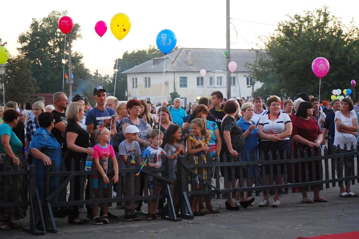 В Червонопартизанске День шахтёра отметили народными гуляниями