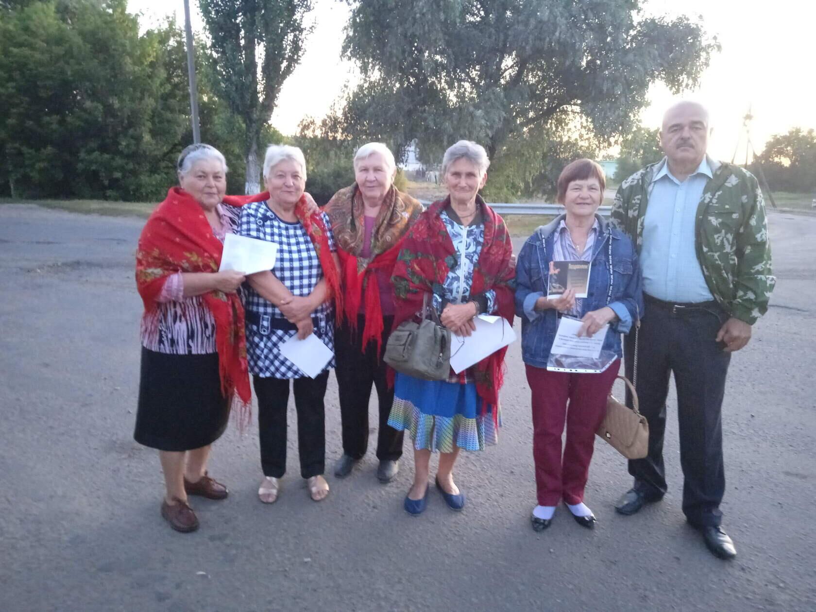 В Краснодонском районе прошла акция «Песня шахтёрских дорог»