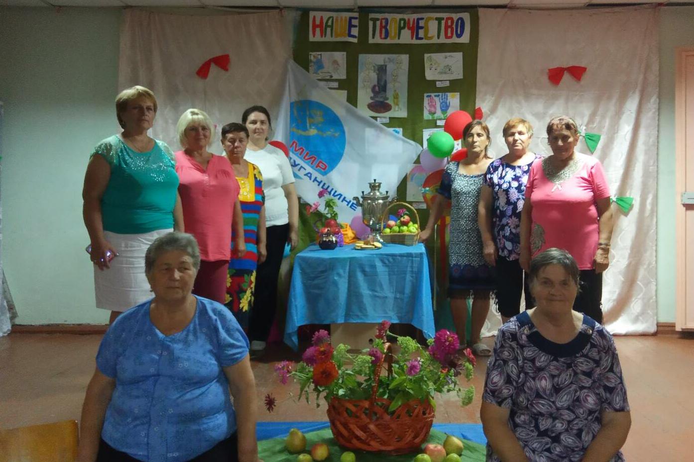 В селе Великий Суходол активисты движения поздравили юбиляров