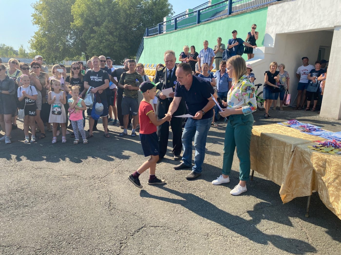 Празднование Дня шахтёра и Дня города провели в Перевальске