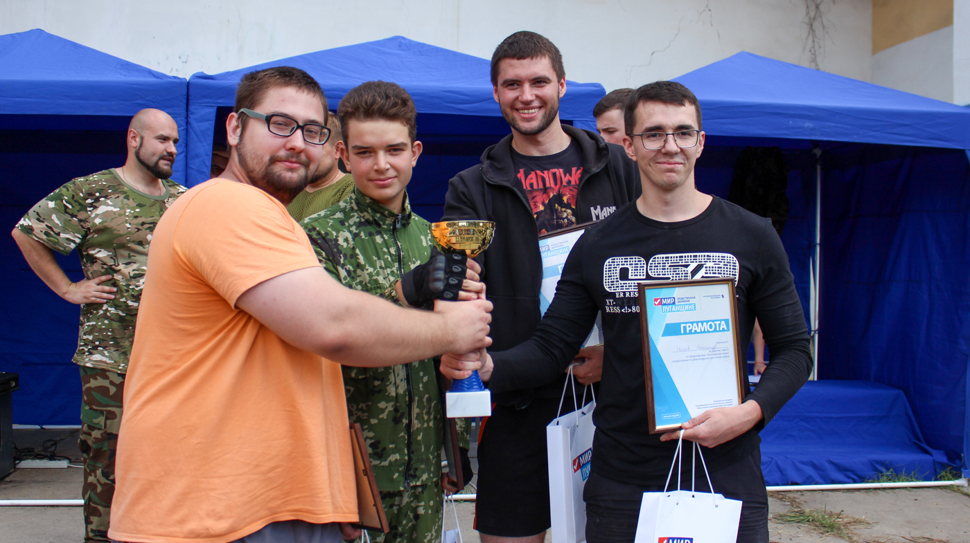 В Луганске прошли «Богатырские игры», посвящённые Дню воздушно-десантных войск 6