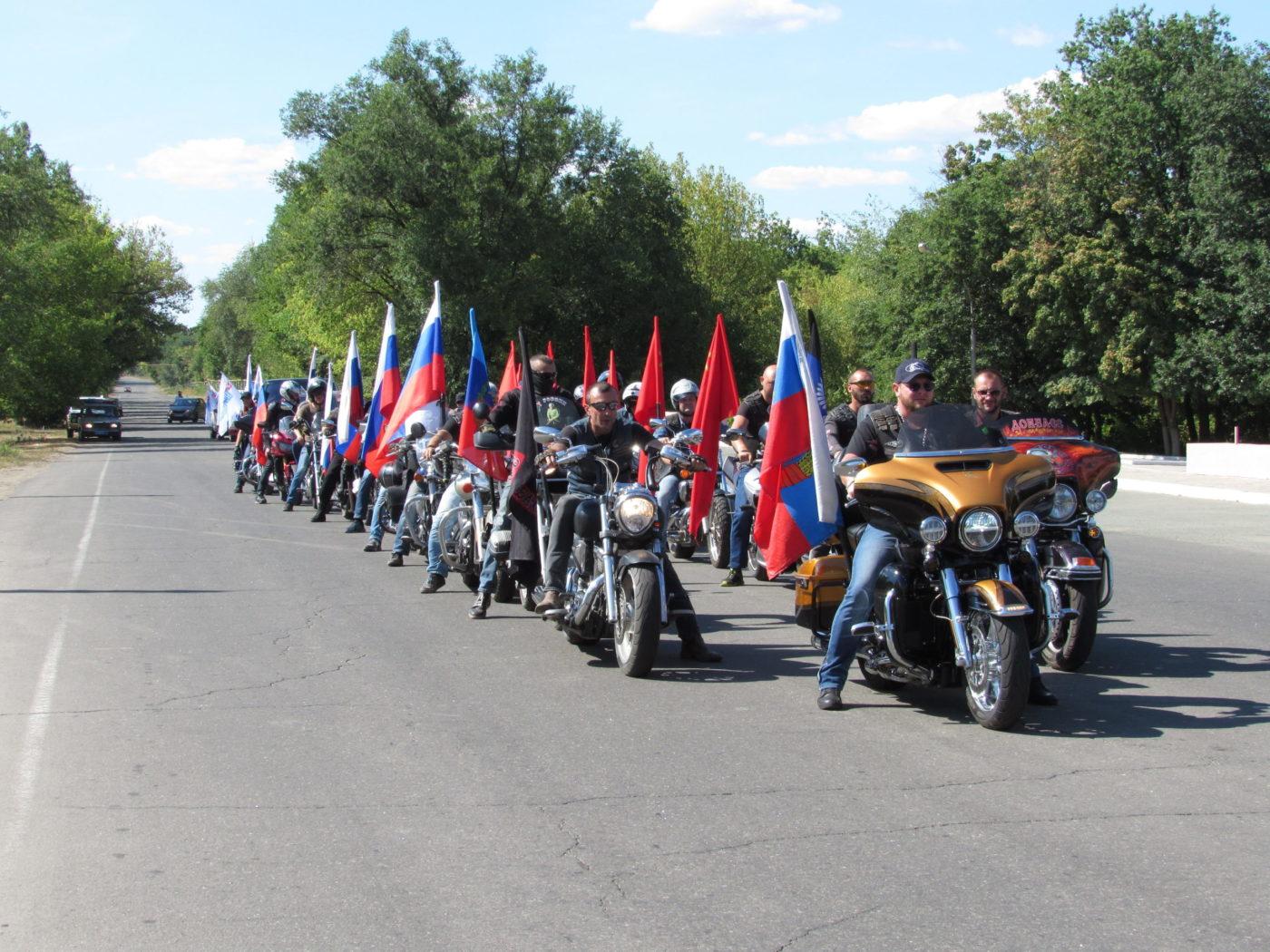 В Стаханове состоялся автопробег, посвященный 85-й годовщине Стахановского движения