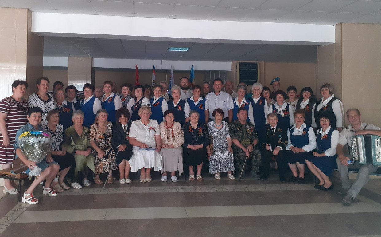 В Суходольске состоялся праздничный прием к 75-летию Победы