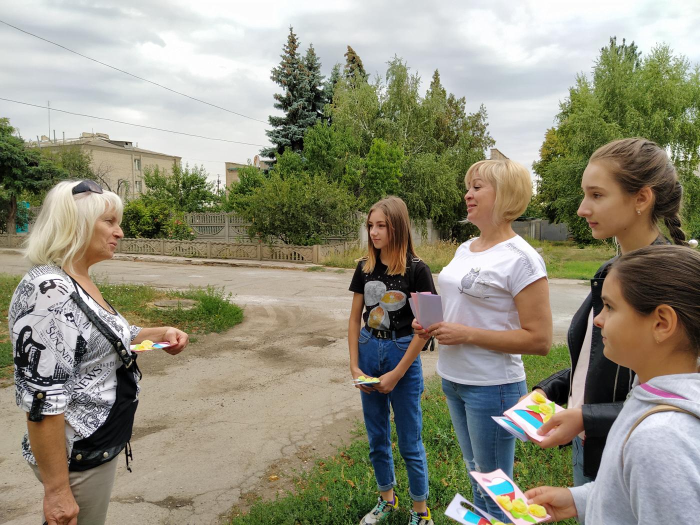 Активисты ОД «Мир Луганщине» провели праздничные мероприятия, посвящённые Дню Государственного флага Российской Федерации 5