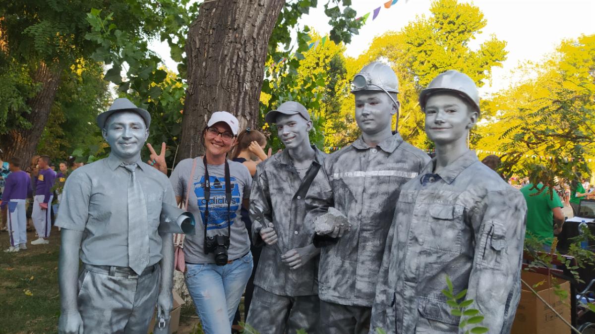 На Краснодонщине чествовали шахтёров 2