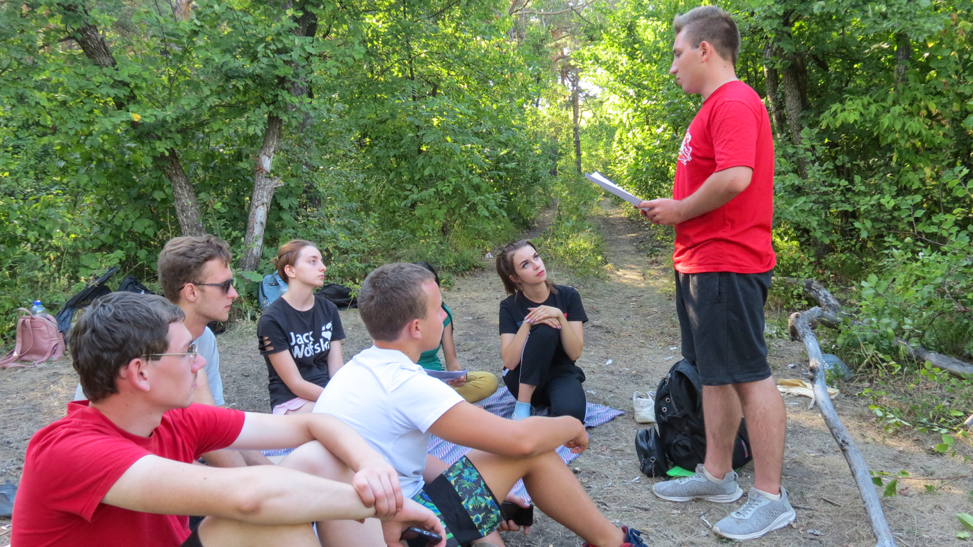 В Краснодоне прошли командные игры для активистов проекта «Молодая Гвардия»
