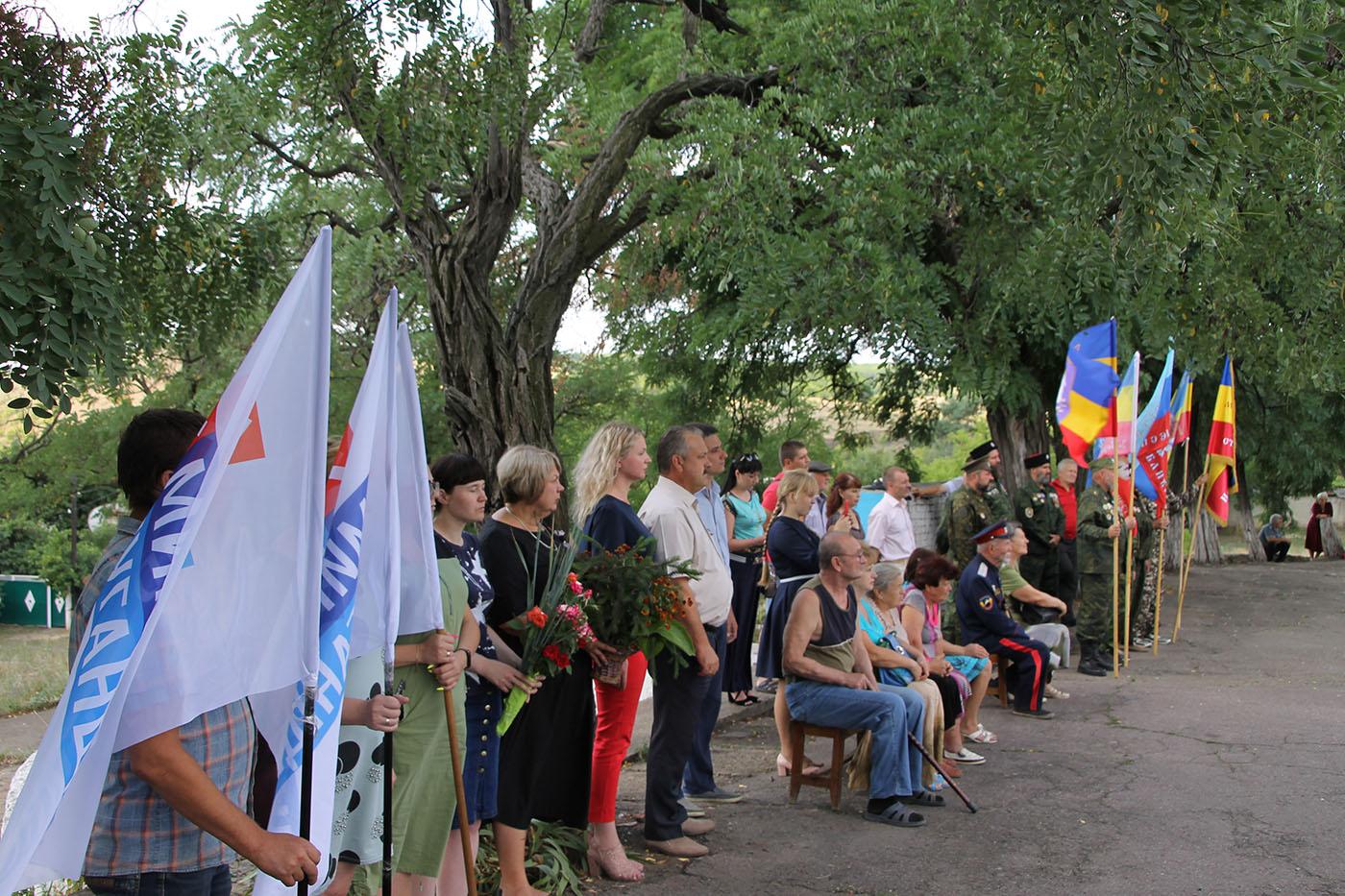 В посёлке Боково-Платово прошёл митинг памяти «Вспомнить всех…»2
