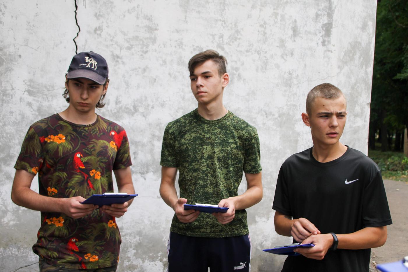 Туристический слёт активистов проекта «Молодая Гвардия» ОД «Мир Луганщине» прошёл в Антраците 6