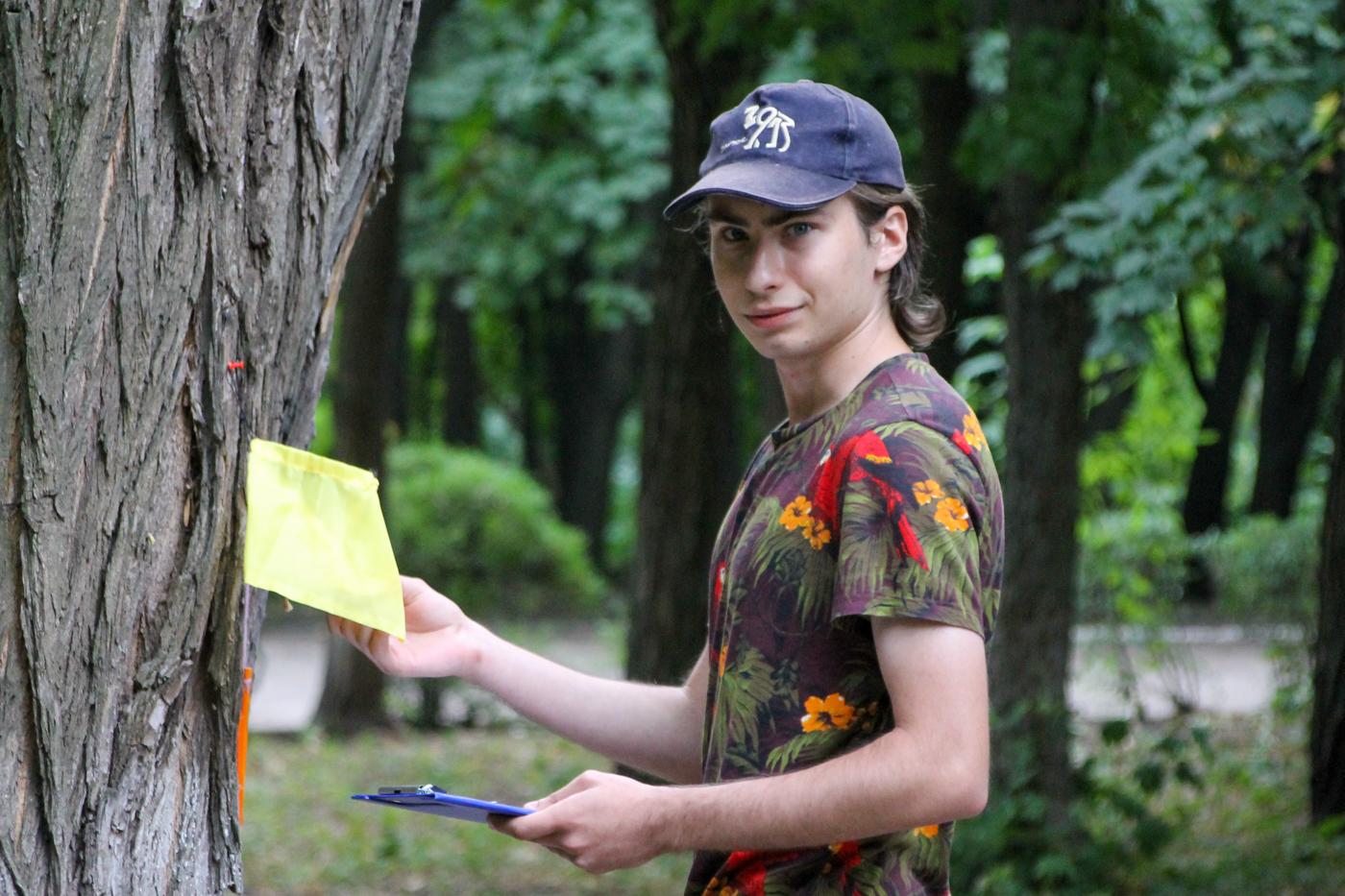 Туристический слёт активистов проекта «Молодая Гвардия» ОД «Мир Луганщине» прошёл в Антраците 7