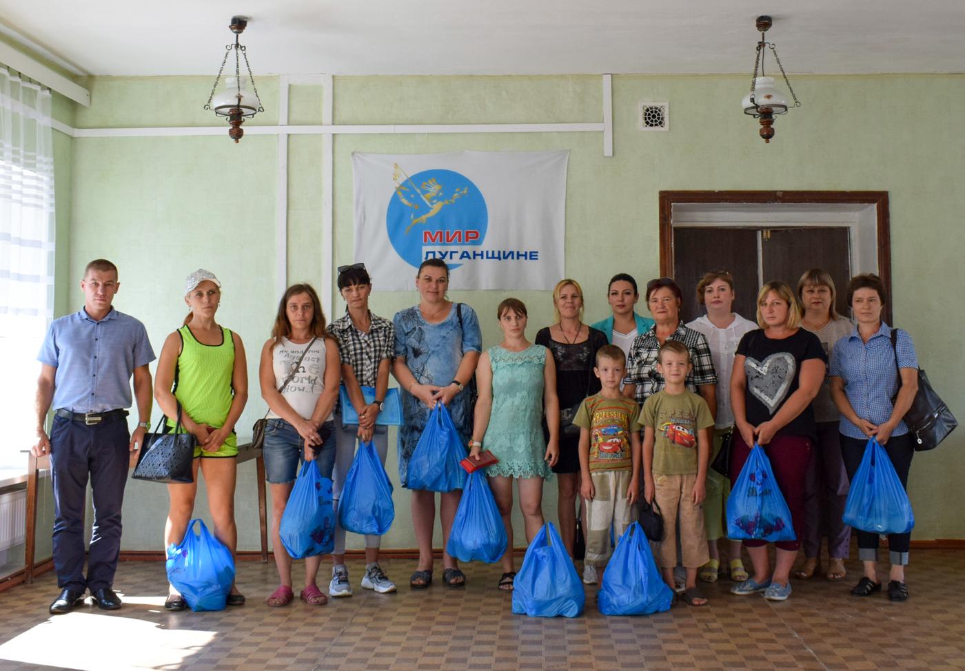 Продуктовые наборы от проекта «Волонтёр» передали многодетным семьям Первомайска
