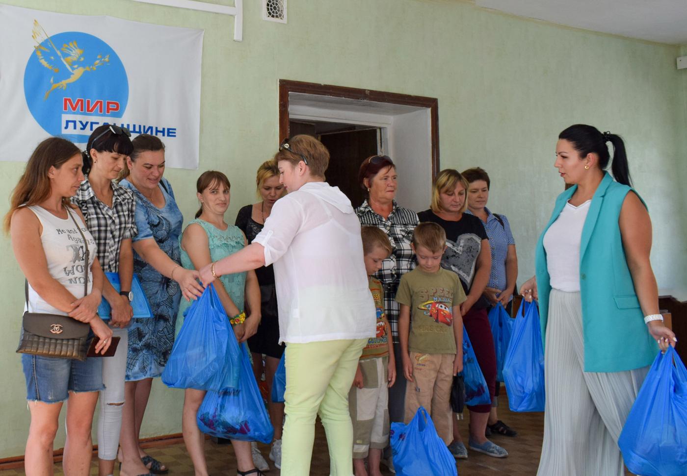 Продуктовые наборы от проекта «Волонтёр» передали многодетным семьям Первомайска 2