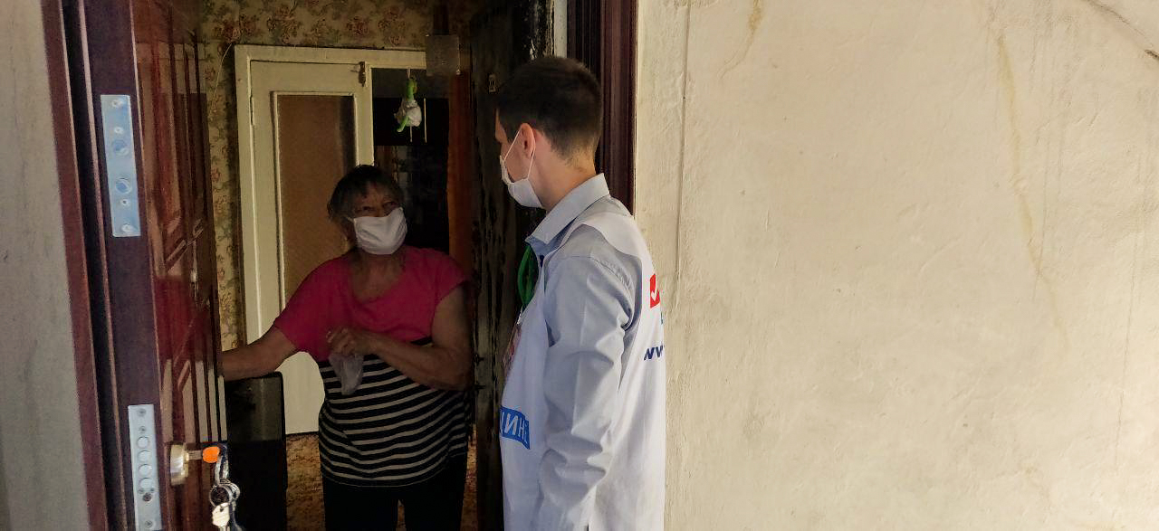 В Первомайске прошла акция «Рука помощи»: волонтеры вновь сделали доброе дело 1